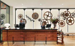 H10 Cubik Hotel Reception