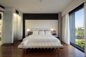 Hilton Madrid Airport Executive Suite Bedroom