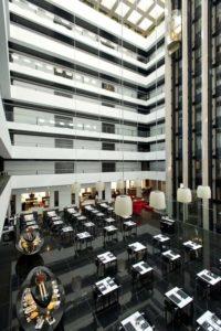Hilton Madrid Airport La Plaza for Breakfast