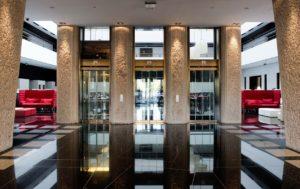 Hilton Madrid Airport Lobby