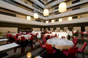 Hilton Madrid Airport Multifunctional Banquet Setp