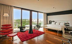 Hilton Madrid Airport Presidential Suite Bedroom