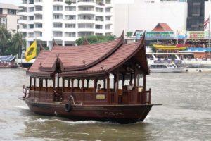 Hotel Guest Boat in Bangkok, Thailand