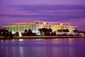 Kennedy Center with Purple Sunset