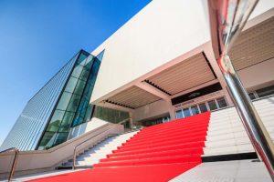 Le Palais des Festivals in Cannes (exterior)