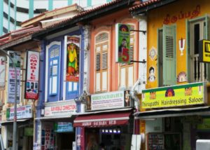 Little India Buildings in Singapore