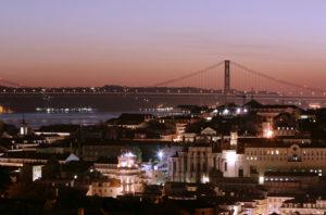 Lisbon City Views at Night