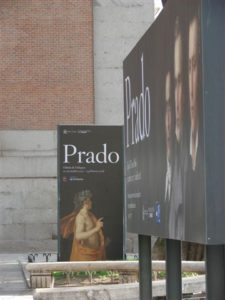 Madrid Prado Signage