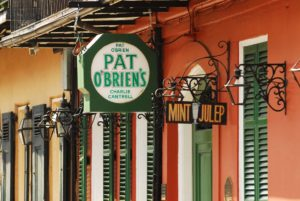 Pat O'Brien's in New Orleans