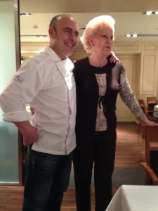 Rodero Chef and Mom in Pamplona, Spain