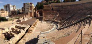 Roman Theater in Cartagena Spain