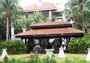 Singapore Raffles Hotel Garden
