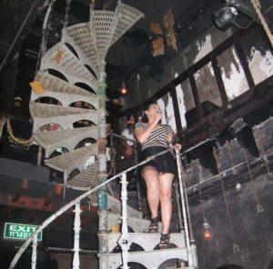 A Singer at a Nightspot in Bangkok