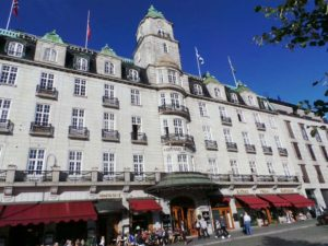 The Grand Hotel in Oslo, Norway