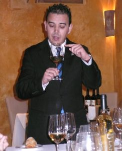 Wine Demo at Locum in Toledo, Spain