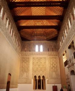 Inside Toledo Sinagogue
