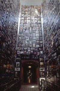 U.S. Holocaust Museum Three Story Tower of Photographs