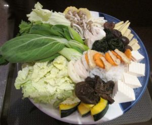 Vegetables for Thai Hot Pot