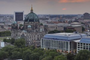 View of Berlin City Center