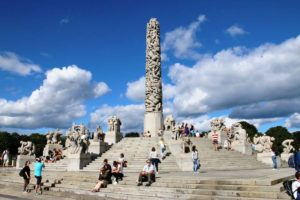 Vigeland Sculpture Park Is One of Oslo's Most Visited Spots