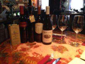 Wine and Olive Oil frm Patios de Beatas in Malaga, Spain