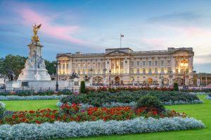 Buckingham Palace courtesy of Visit London