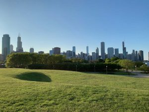 Chicago Skyline from Museum Campus
