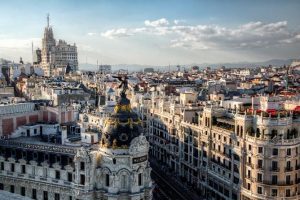 Madrid Skyline View