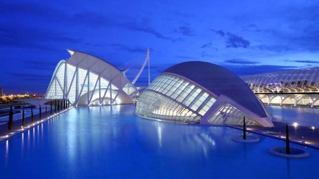 The Hemisferic in Valencia, Spain